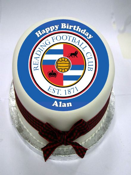 Reading FC Edible Cake Topper